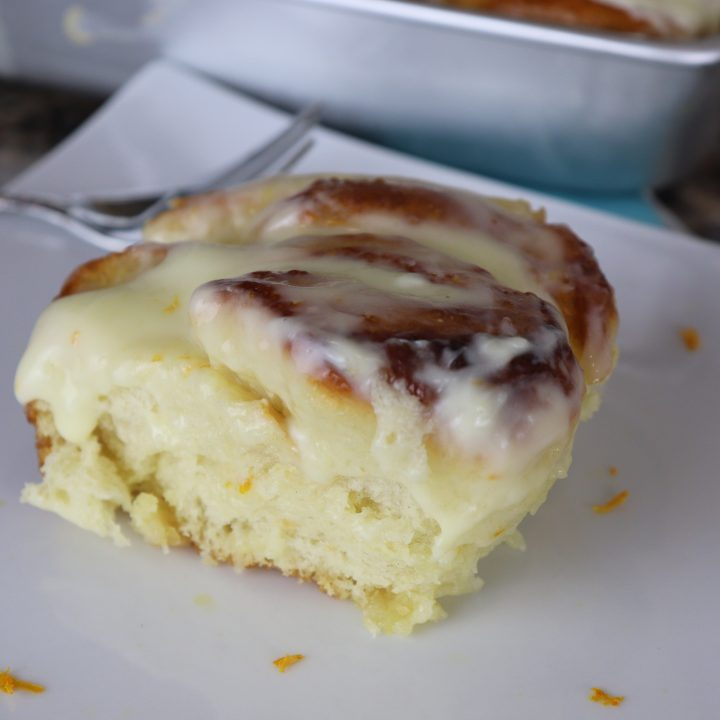 Homemade Orange Rolls
