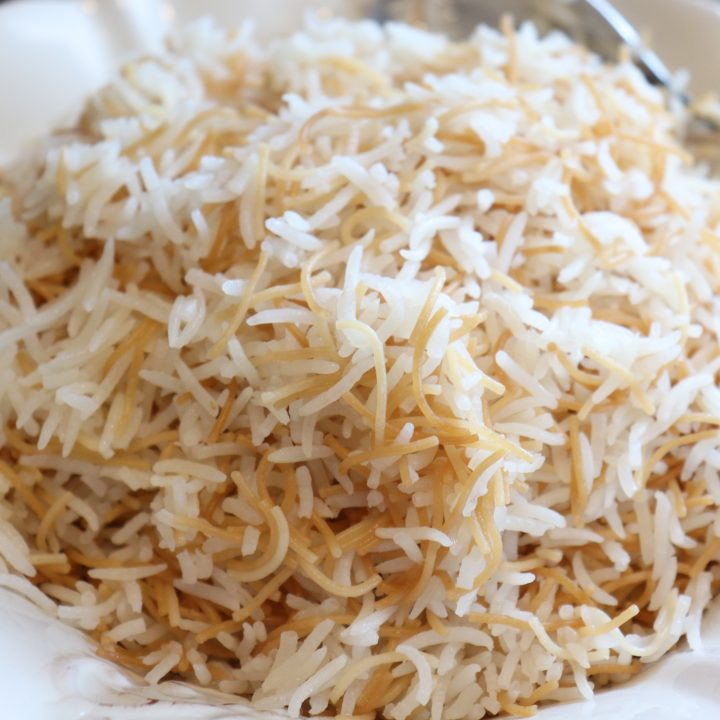 Middle-Eastern Rice Pilaf