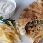Kafta in Pita Bread
