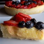 Mixed Berry Lemon Tart